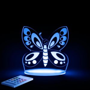 ALOKA SLEEPY LIGHTS - papillon - Lámpara Para Dormir Para Niño
