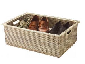 ROTIN ET OSIER - corbeille william - Caja De Zapatos