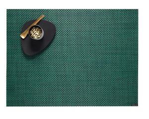 CHILEWICH - basketweave pine rectangle - Mantel Individual
