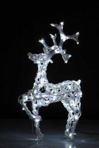 ARTS ET PLAISIRS - cerf patte levée - belle de jour - Decoración De Árbol De Navidad