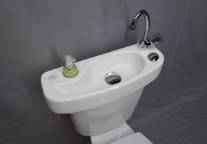 ATELIER CREATION JF - wici concept - Lavabo Adaptable Para Wc