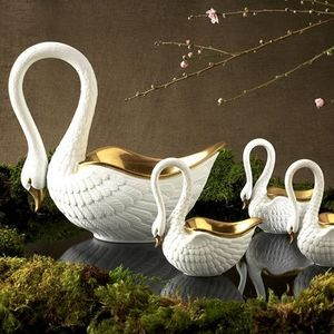 L'OBJET - swan medium - Salero Y Pimentero