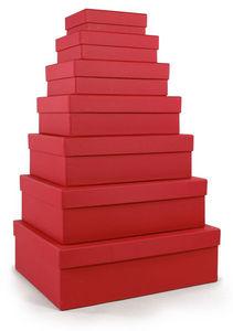 RÖSSLER PAPIER - rot / diverse größen - Caja