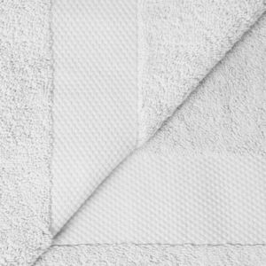 Cosyforyou - serviette coton égyptien blanc - Toalla