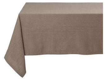 Athezza Home - nappe adda taupe 170x170cm - Mantel Rectangular