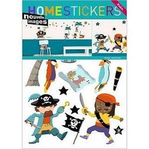 Nouvelles Images - stickers adhésif pirates nouvelles images - Adhesivo