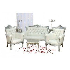 DECO PRIVE - fauteuil de mariage pack pour mariage - ensemble 2 - Salón