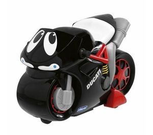 Chicco  France - turbo touch - ducati black - Moto Miniatura