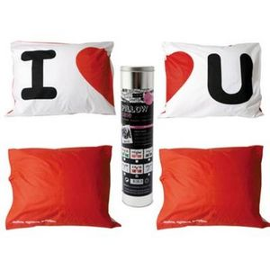 Present Time - taie d'oreiller i love you - Funda De Almohada