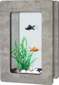 ZOLUX - aquarium aqua vision h imitation béton ciré 6 litr - Acuario