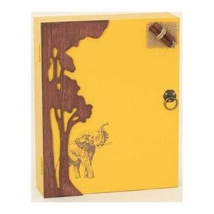 FAYE - boîte à clés safari - Armario De Llaves