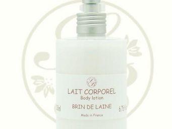 Savonnerie De Bormes - lait corporel douceur détoffe, parfumé brin de lai - Crema Para El Cuerpo