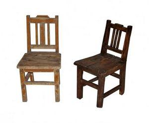 Demeure et Jardin - chaise enfant en bois - Silla Para Niño