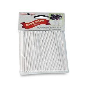 Nordicware - bâtonnets pour cake pops en papier x50 - Molde Para Pasteles
