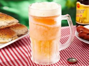 WHITE LABEL - la chope bière réfrigérante xxl 650 ml transparent - Jarra De Cerveza
