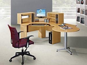 BELIANI - bari - Mesa De Despacho En Ángulo