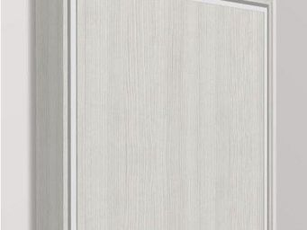 WHITE LABEL - armoire lit escamotable eos, chêne blanc. matelas - Armario Cama
