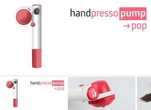 Handpresso - handpresso pump pop rose - Cafetera Expresso Portable