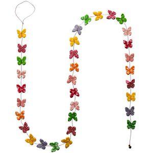 Lamali - guirlande decorative papillon en papier lokta150cm - Guirnalda