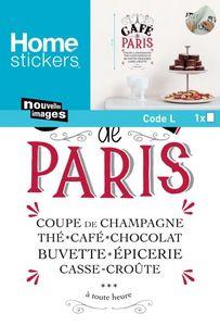 Nouvelles Images - sticker mural café de paris - Adhesivo