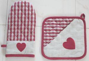 ITI  - Indian Textile Innovation - heart - Manopla De Horno