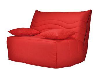 WHITE LABEL - fauteuil-lit bz matelas hr 120 cm - speed rico - l - Banqueta Bz