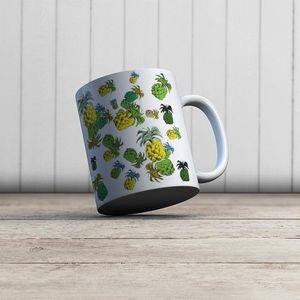 la Magie dans l'Image - mug ananas motif - Taza
