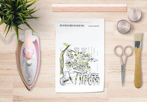 la Magie dans l'Image - papier transfert vélos - Transfert