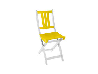 City Green - lot de 2 chaises pliantes burano - 50 x 36 x 86 cm - Silla De Jardín Plegable
