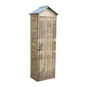 CEMONJARDIN - armoire en bois panama petit modèle - Guardaherramientas De Jardín