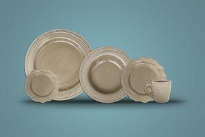 Ceramica Andina - imperial gris confort - Servicio De Mesa