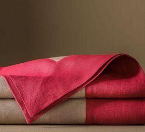 BLANC CERISE - delices de lin--- - Mantel Cuadrado