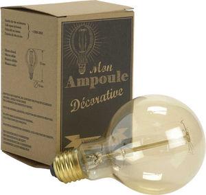 Amadeus - ampoule retro globe diamètre 8cm - Luz Bombilla De Filamento