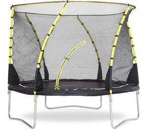 Plum - trampoline avec filet innovant 3g whirlwind 305 cm - Cama Elástica