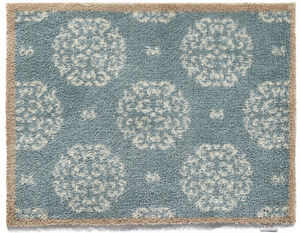 HUG RUG - tapis en fibres naturelles home fleuri 65x150 cm - Felpudo