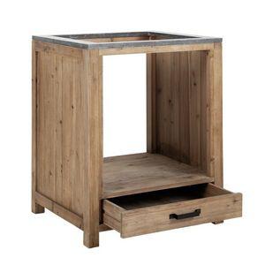 MAISONS DU MONDE -  - Mueble Bajo Para Horno Integrado
