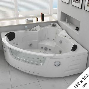 DISTRIBAIN - baignoire d'angle 1408312 - Bañera Angular