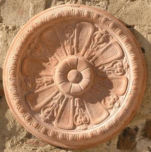 POGGI UGO - rosette - Ornamento De Jardín