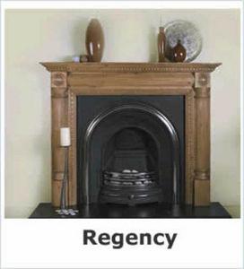 Period Stone Fireplaces -  - Chimenea De Hogar Cerrado