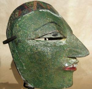Baikal - masque dieng - Máscara De Oceanía