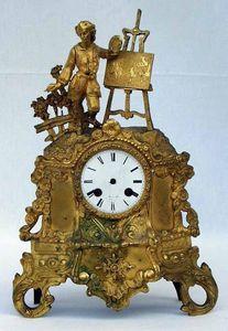 Antiquités Eric de Brégeot -  - Reloj Pequeño De Pared