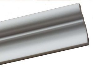 Nevadeco - cm 80 polystyrene en 2m - Cornisa