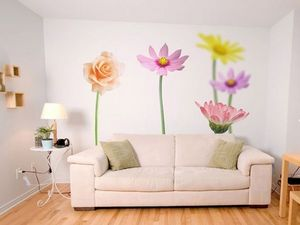 DECLIK - floral - Papel Pintado De Ancho Único