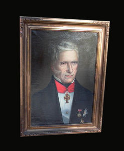 Le grenier de Vauban - portrait presume d'arthur wellesley - Retrato