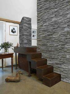 MARLUX - expression murale aspect pierre sèche - Paramento Pared Interior