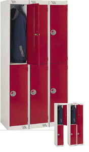 Envosort - 2 tier personal lockers - Guardarropa