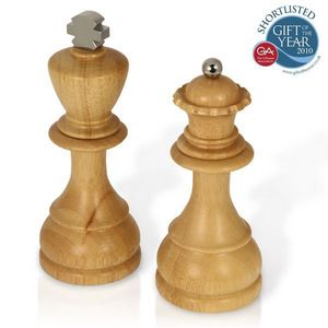 SPINNING HAT - king and queen salt and pepper mills - Salero Y Pimentero