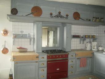 Luc Perron - sur mesure style campagne chic - Cocina Equipada