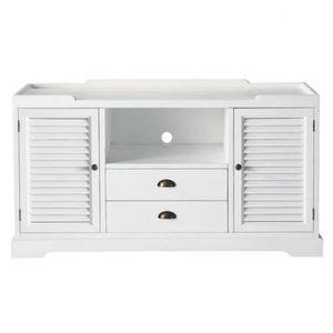 MAISONS DU MONDE - meuble tv barbade - Mueble Tv Hi Fi