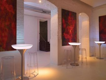 Moree - lounge m 105  - Mesa Alta Luminosa